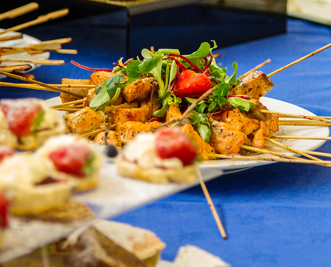 Catering at our conference venues